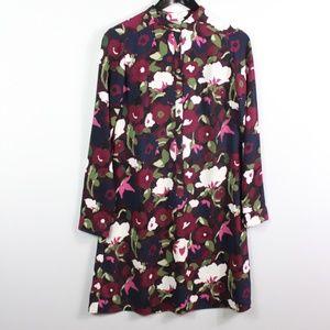 Merona Women's Shift Dress Size XS Floral Print